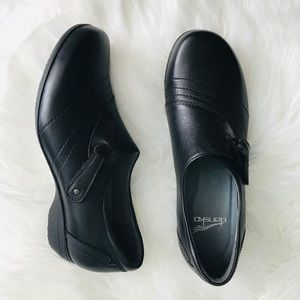 Dansk Black Comfort Shoes Size US 7 Clogs